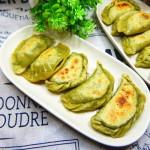 韭菜煎饺子