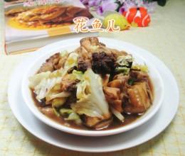 圆白菜炒鸡块