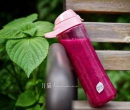 香焦火龙果汁