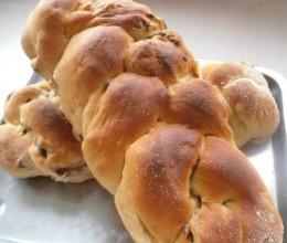 枣香编花面包