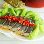 苦瓜剁椒蒸带鱼