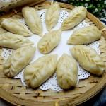 包菜蒸饺子