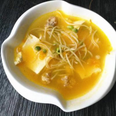 南瓜豆腐汤