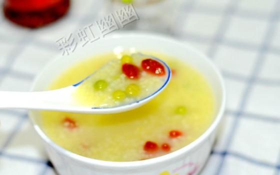 豌豆小米粥