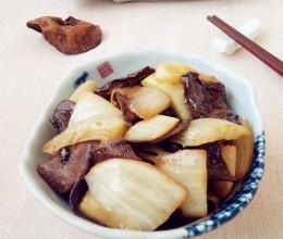 榛蘑炒白菜