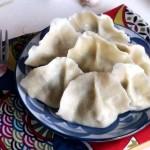 蘑菇小白菜猪肉饺子