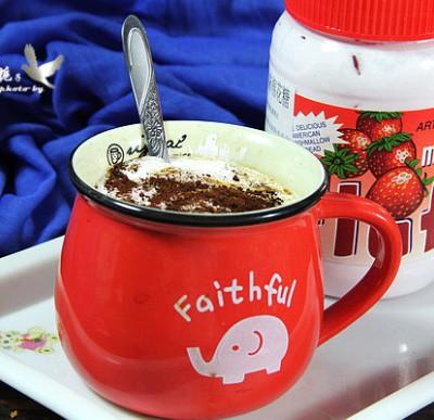 榴莲棉花糖咖啡