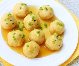 土豆鸡肉丸