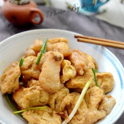 龙利鱼焖豆腐