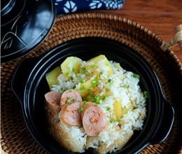 香肠土豆饭
