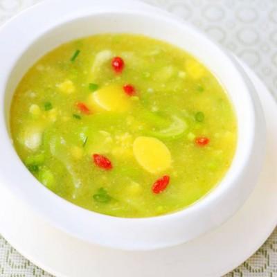 丝瓜日本豆腐汤