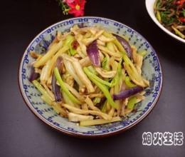 西芹炒杏鲍菇