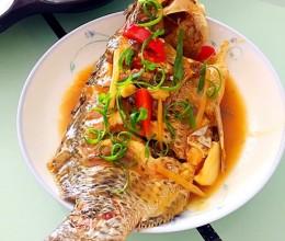 罗非鱼怎么做好吃-酱汁烩罗非鱼