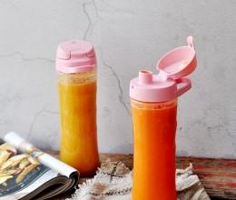 夏橙雪梨胡萝卜汁