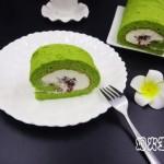蜜豆抹茶蛋糕卷