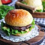 芝士牛肉汉堡