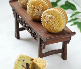 抹茶蔓越莓小蛋糕