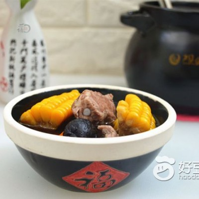 香菇玉米排骨汤