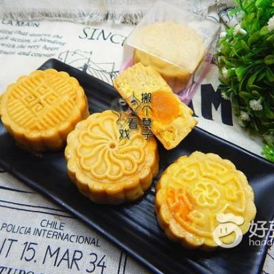 绿豆蛋黄月饼