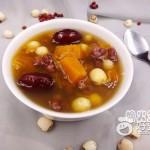莲子红枣南瓜汤
