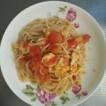 番茄鸡蛋意面