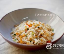 海胆肉虾仁炒饭