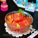 西瓜黄桃沙冰