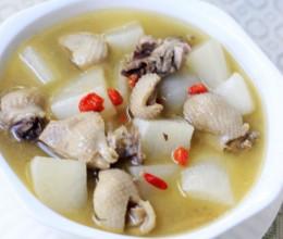 白萝卜老鸭汤