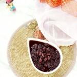 红豆黑米粥