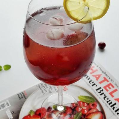 蔓越莓气泡酒