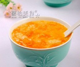 南瓜伏苓小米粥