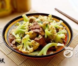 蒜香花菜炒猪肝