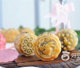 红豆莲子月饼