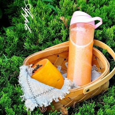 木瓜千禧果汁