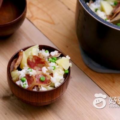 香腸土豆燜飯