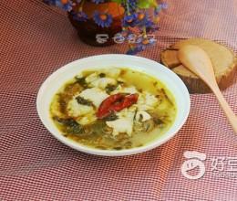 #润秋燥#辣味酸菜鱼汤