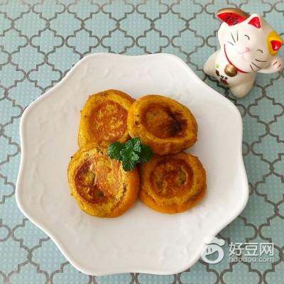 #润秋燥#糯米南瓜饼