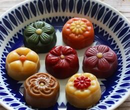 橄榄油桃山皮月饼