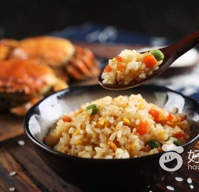 可愛飯團 / 蟹黃炒飯