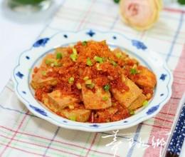 柞广椒炕柴火豆腐