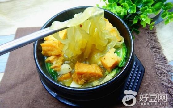 咖喱鱼丸汤