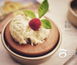 燕麦冰淇淋蛋糕碗