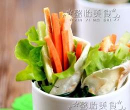 鸡肉蔬菜卷