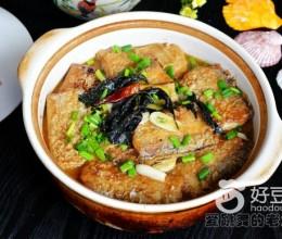 紫苏豆腐炖带鱼