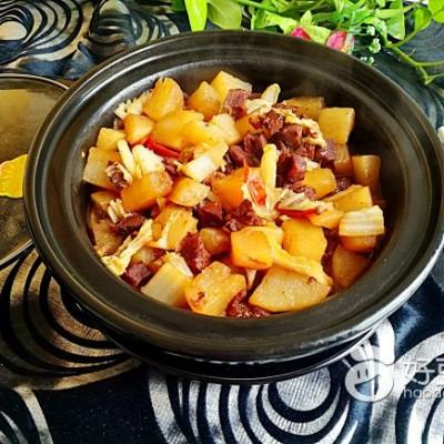 蘿卜白菜牛腩煲