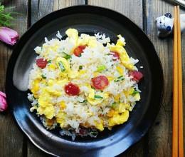 腊肠鸡蛋炒饭