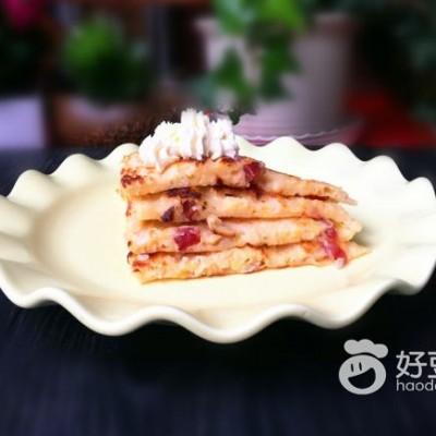 酸菜香肠饼