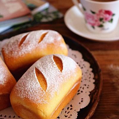 南瓜麻薯红豆面包