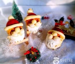 圣诞老人玫瑰酱面包