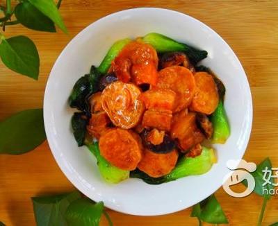 五花肉香菇焖素鸡